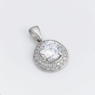 Срібний кулон (7060)