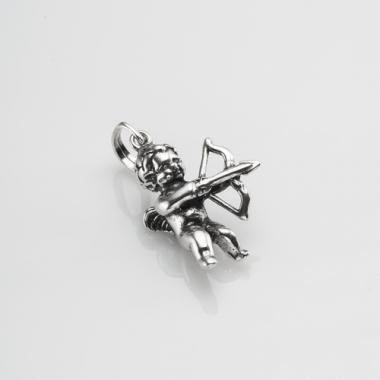"""Срібний кулон """"Купідон"""" (7069)"""