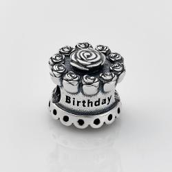Шарм (бус) в стилі PANDORA Happy Birthday 7114