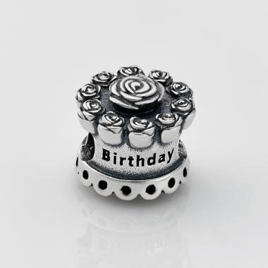 Шарм (бусина) в стиле PANDORA Happy Birthday 7114