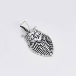Срібний кулон Сова (7119)