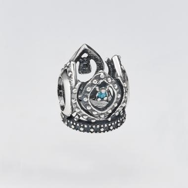 Шарм (бус) в стилі PANDORA корона 7143
