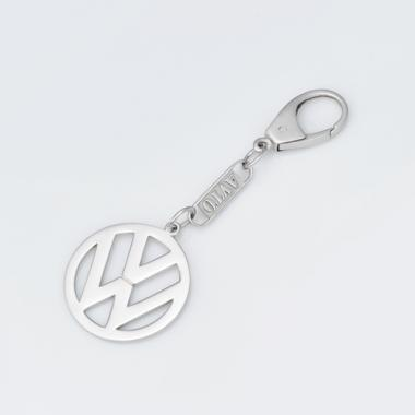 Серебряный брелок Volkswagen (Фольксваген) (9002.1)