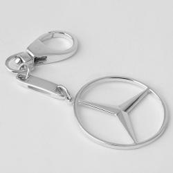 Серебряный брелок Mercedes (Мерседес) (9003)