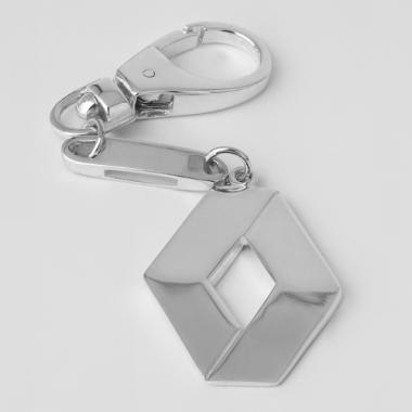 Срібний брелок Renault (Рено) (9008)