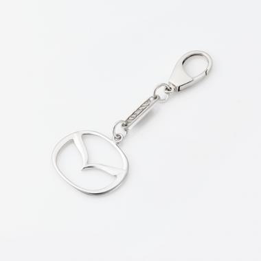 Срібний брелок Mazda (Мазда) (9010.1)
