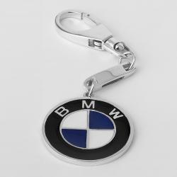 Серебряный брелок BMW (БМВ) (9013)