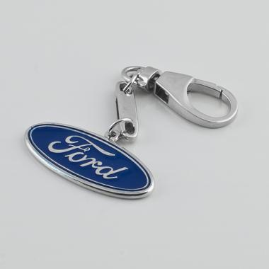 Серебряный брелок Ford (Форд) (9016)