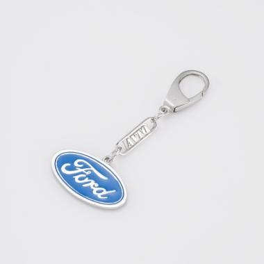 Серебряный брелок Ford (Форд) (9016.1)