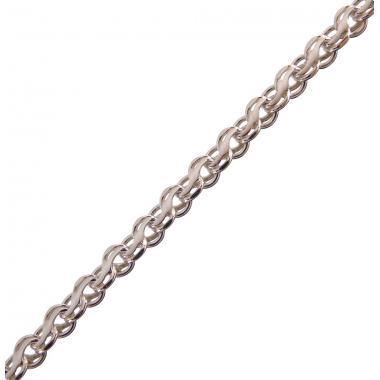 Серебряная цепь ручеек (1001.1)